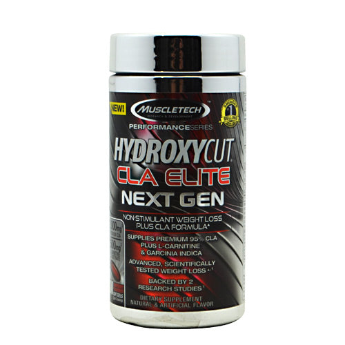 Shop MuscleTech Hydroxycut CLA Elite, 100 Softgel online  cla-weight-loss-supplements