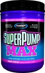 Shop Gaspari Nutrition SuperPump MAX, Grape Cooler, 40 Serving online  sports-nutrition-pre-workout-powders