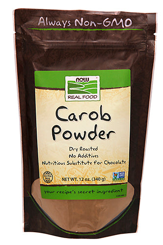 Shop NOW Foods Carob Powder, 12 Ounce online