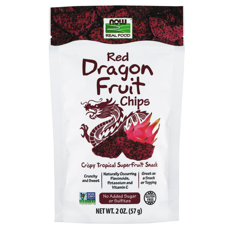 Shop NOW Foods Red Dragon Fruit Chips, 2 Ounce (RH) online  sports-nutrition-chips-and-crisps-snacks