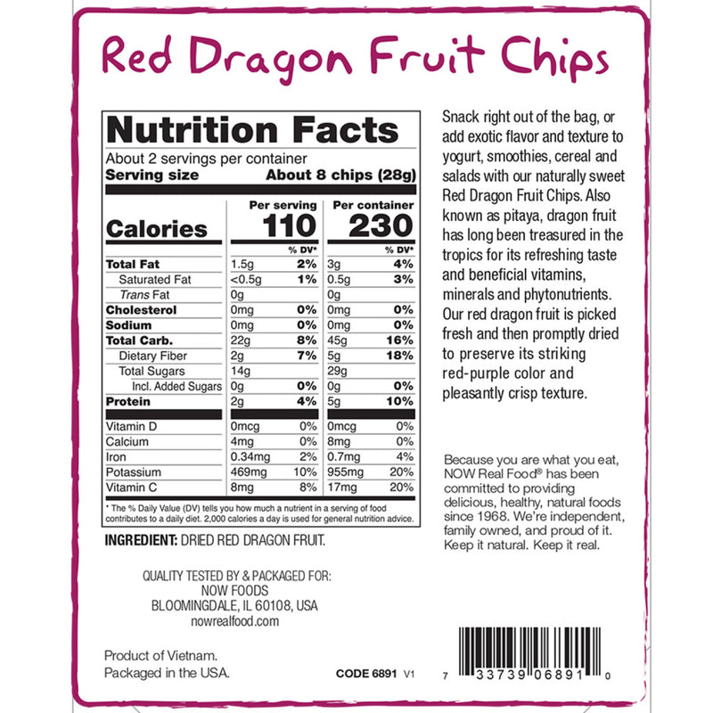 Red Dragon Fruit Chips