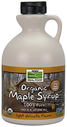 Shop NOW Foods Maple Syrup, 32 Ounce online