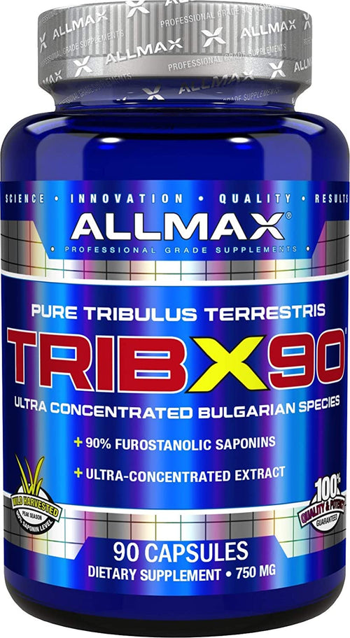 Shop ALLMAX Nutrition TRIB X 90, 90 Count online  sports-nutrition-testosterone-boosters