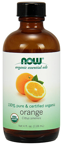 Shop NOW Foods Organic Orange Oil, 4 Fluid Ounce online  scented-oils