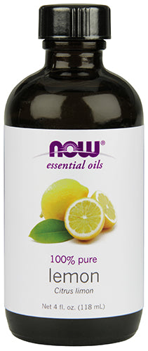 Shop NOW Foods Lemon Oil, 4 Fluid Ounce online  scented-oils
