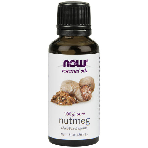 Shop NOW Foods Nutmeg Oil Pure, 1 Fluid Ounce (MB) online  scented-oils