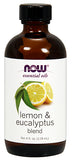 Shop NOW Foods Lemon & Eucalyptus Blend Oil, 4 Fluid Ounce online  scented-oils