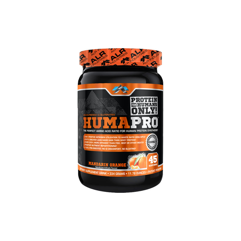 Shop ALR Industries HumaPro Powder, Mandarin Orange, 334 Gram online  sports-nutrition-protein-powder-blends