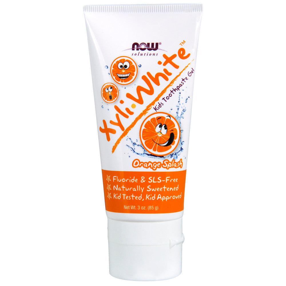 Shop NOW Foods XyliWhite Toothpaste Gel For Kids, Orange Splash, 3 Ounce (MB) online  childrens-toothpaste