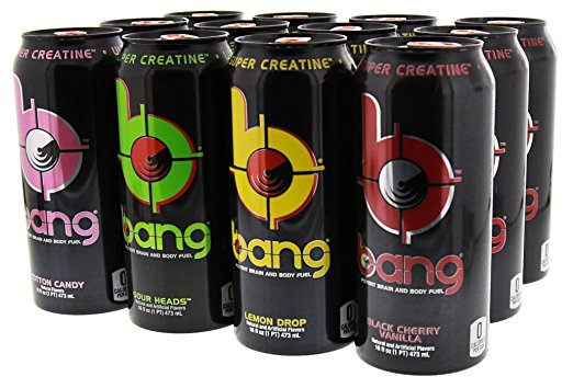 Shop Bang Energy Drink, Variety Pack 2, 16 Fluid Ounce (12 Pack) online  sports-nutrition-endurance-and-energy-drinks