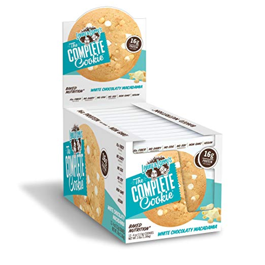 Shop Lenny & Larry's Complete Cookie, White Chocolate Macadamia, 12 Count online  sports-nutrition-protein-bars