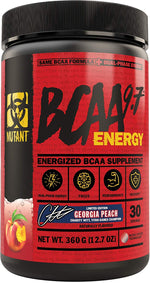 Shop Mutant BCAA Energy, Georgia Peach, 30 Serving online  branched-chain-amino-acids-nutritional-supplements