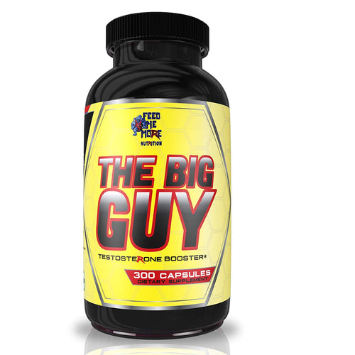 Shop Feed Me More The Big Guy (Test Booster), 300 Capsules (Pack of 1) online  sports-nutrition-testosterone-boosters