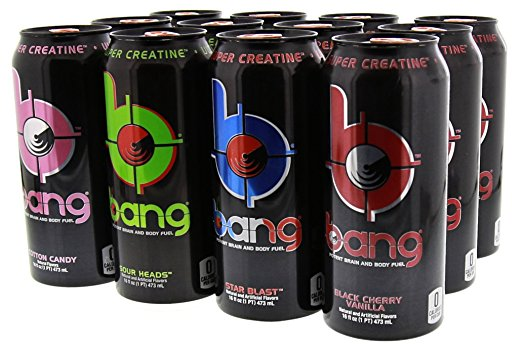 Shop VPX Bang, Variety Pack 3, 16 Fluid Ounce (12 Pack) online  sports-nutrition-endurance-and-energy-drinks