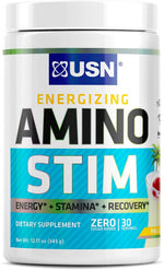 Shop USN Cutting Edge Series Amino Stim, Pina Colada, 30 Serving online  amino-acids