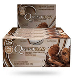 Shop Quest Nutrition Quest Bar, Double Chocolate Chunk, 12 Count online  sports-nutrition-protein-bars
