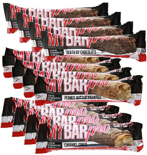 Shop Pro Supps My Bar Pro, Variety, 12 Count online  sports-nutrition-protein-bars