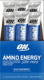Shop Optimum Nutrition Amino Energy, Blue Raspberry, 6 Packet online  sports-nutrition-endurance-and-energy-supplements