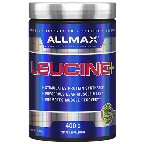 Shop ALLMAX Nutrition Leucine 5,000 mg, 14.1 oz (400 g) online  l-leucine-nutritional-supplements
