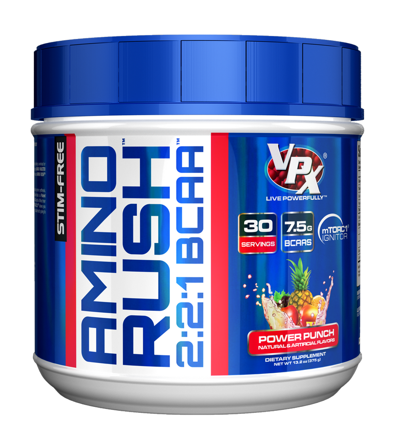 Shop VPX Amino Rush, Power Punch, 30 Serving online  branched-chain-amino-acids-nutritional-supplements