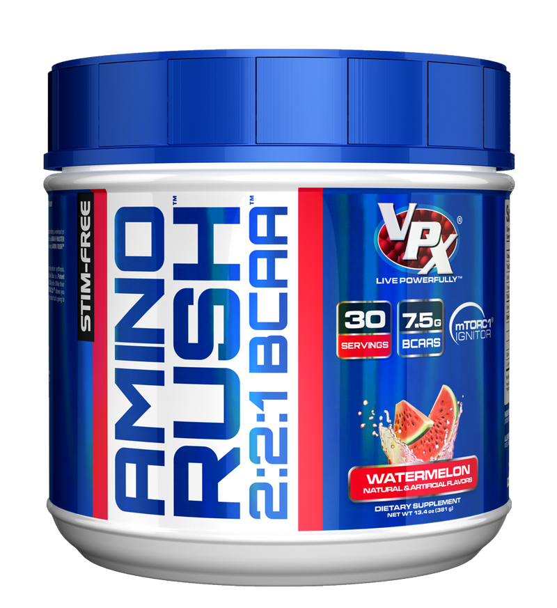 Shop VPX Amino Rush, Watermelon, 30 Serving online  branched-chain-amino-acids-nutritional-supplements