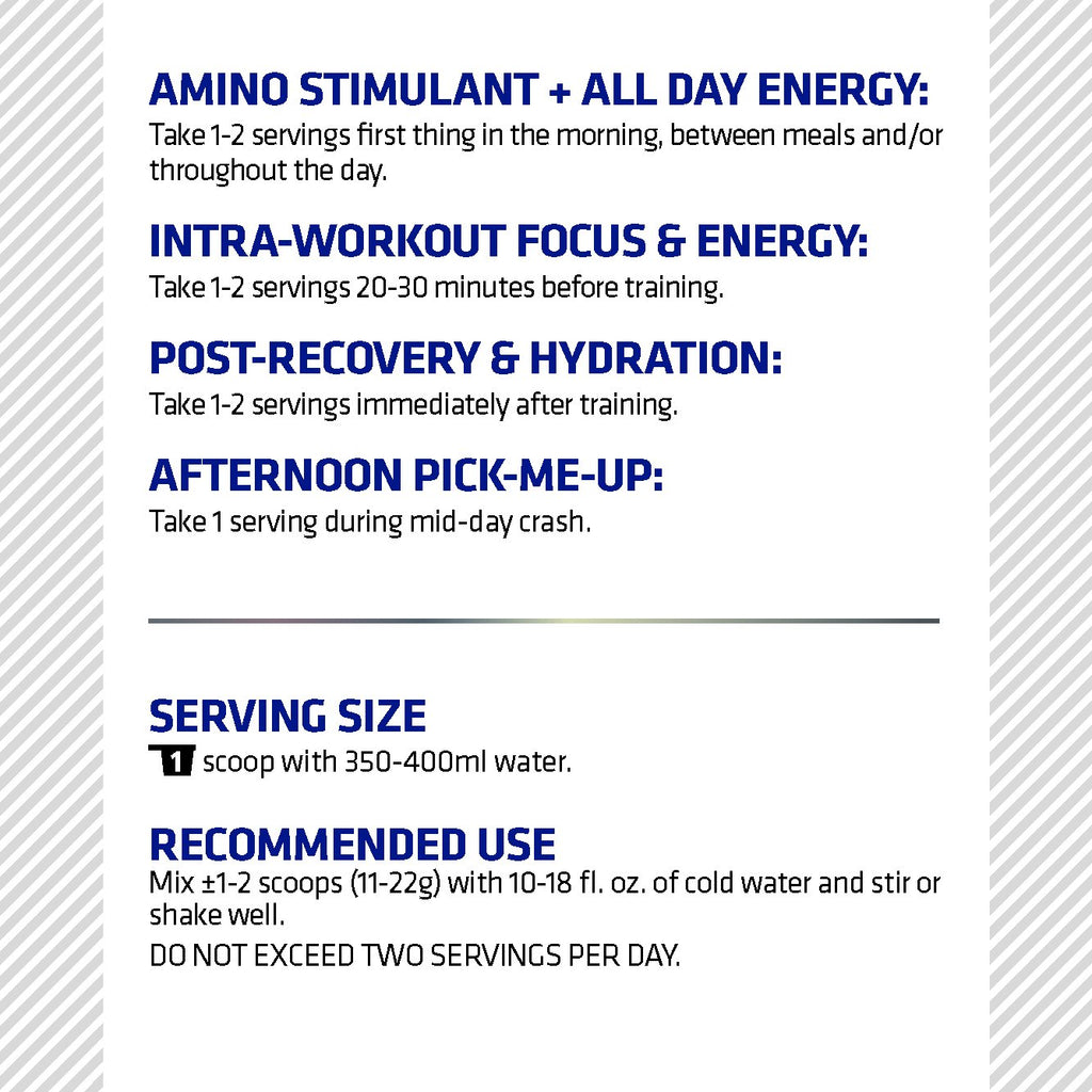 Cutting Edge Series Amino Stim