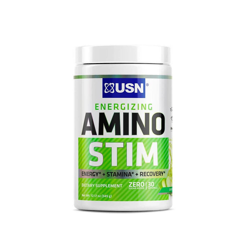 Shop USN Cutting Edge Series Amino Stim, Green Apple, 30 Serving online  amino-acids