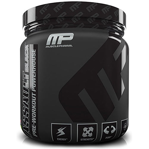 Shop MusclePharm Assault Black, Strawberry Lime, 30 Serving online  sports-nutrition-endurance-and-energy-powders