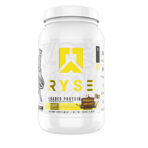 Shop RYSE Up Supplements Loaded Protein, 2 Pound, Peanut Butter Cup online  sports-nutrition-protein-powder-blends
