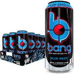 Shop VPX Bang, Blue Razz, 16 Fluid Ounce (12 Pack) online  sports-nutrition-endurance-and-energy-drinks