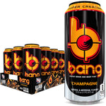 Shop Bang Energy Drink, Champagne, 16 Fluid Ounce (12 Pack) online  sports-nutrition-endurance-and-energy-drinks