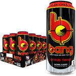 Shop Bang Energy Drink, Citrus Twist, 16 Fluid Ounce (12 Pack) online  sports-nutrition-endurance-and-energy-drinks