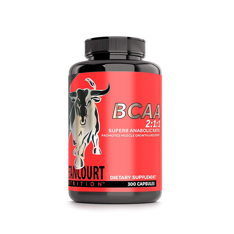 Shop Betancourt Nutrition BCAA 2:1:1 RATIO, 300 Capsule online  branched-chain-amino-acids-nutritional-supplements