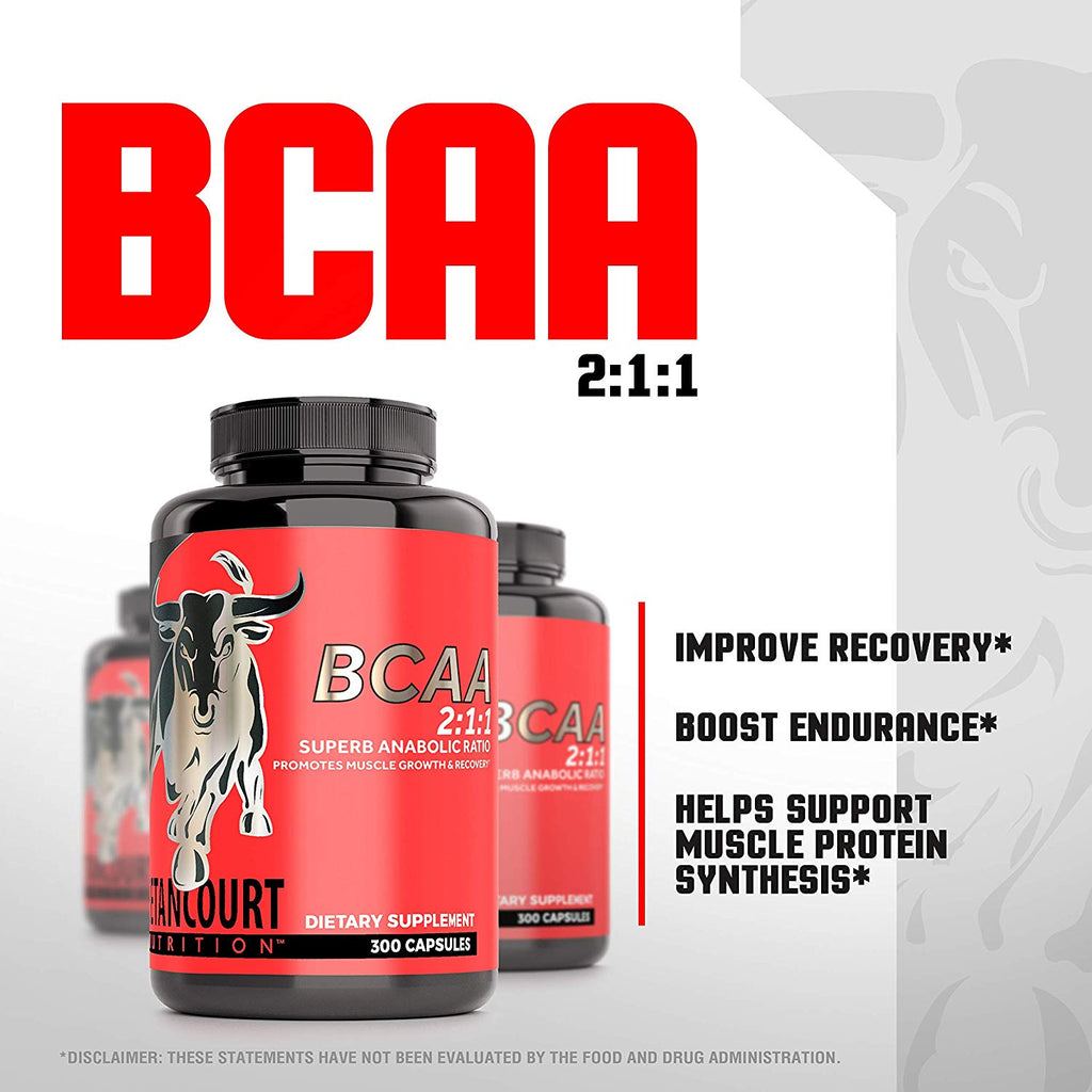 BCAA 2:1:1 RATIO
