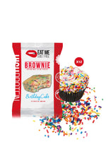 Shop Eat Me Guilt Free, Birthday Cake Brownie, 12 Count online  sports-nutrition-cookies-and-brownies