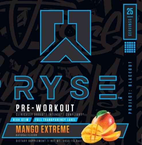 Project: Blackout | Pre-workout | Mango Extreme