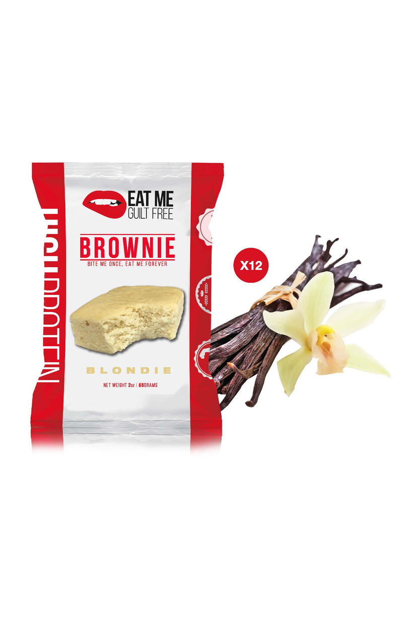 Shop Eat Me Guilt Free, Blondie Brownie, 12 Count online  sports-nutrition-cookies-and-brownies