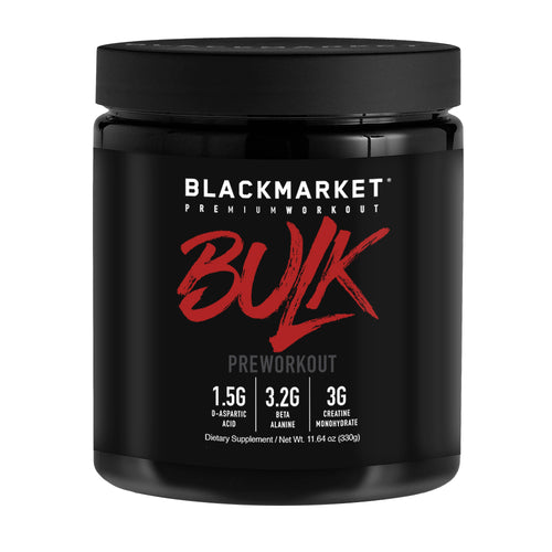 Shop BlackMarket Labs BULK, Fruit Punch, 30 Serving online  sports-nutrition-pre-workout-powders