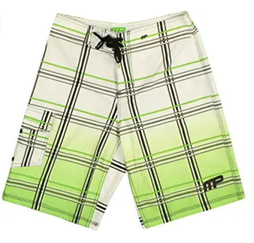 Shop MusclePharm MP Boardshorts White, Size 34 (Pack of 1) online  mens-board-shorts