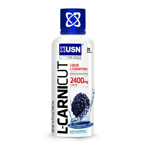 Shop USN Cutting Edge Series L-Carnicut 2400, Blue Raspberry, 31 Serving online  branched-chain-amino-acids-nutritional-supplements