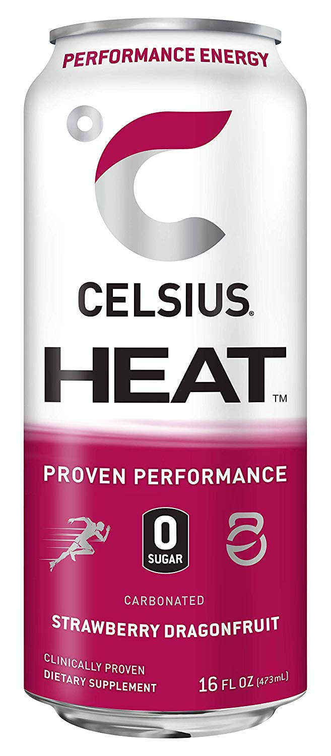 Shop CELSIUS Heat, 1-Pack, Strawberry Dragonfruit online  energy-drinks