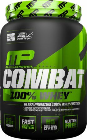 Shop MusclePharm Combat 100% Whey, Cappuccino, 2 Pound online  sports-nutrition-whey-protein-powders