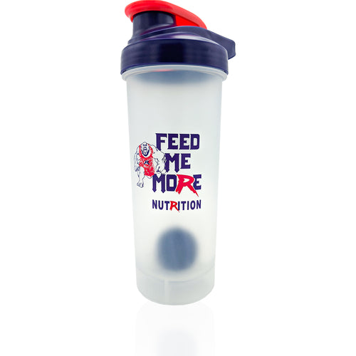 Shop Feed Me More Premium Shaker Bottle with Heavy Shaker Ball, 28 Ounce online  sports-nutrition-shaker-bottles