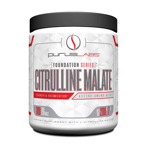 Shop Purus Labs Foundation Series, Citrulline Malate, 200 Gram, 100 Serving (Unflavored) online
