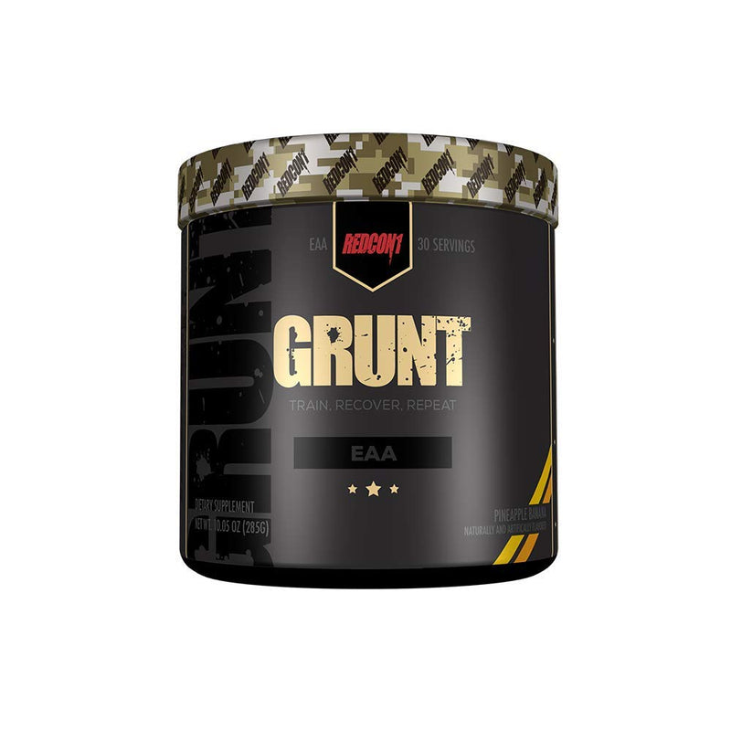 Shop RedCon1 Grunt, 30 Serving, Pineapple Banana online  sports-nutrition-post-workout-and-recovery-products