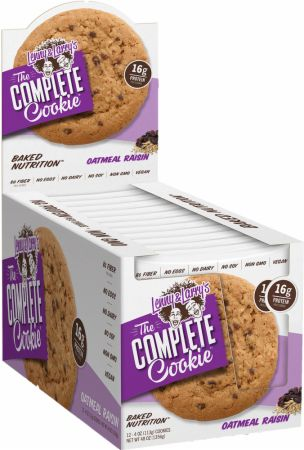 Shop Lenny & Larry's Complete Cookie, Oatmeal Raisin, 12 Count online  packaged-chocolate-snack-cookies