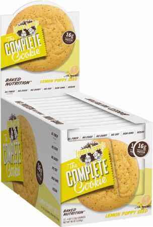 Shop Lenny & Larry's Complete Cookie, Lemon Poppyseed, 12 Count online  sports-nutrition-protein-bars