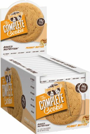 Shop Lenny & Larry's Complete Cookie, Peanut Butter, 12 Count online  packaged-chocolate-snack-cookies