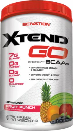 Shop Scivation Xtend GO, Fruit Punch, 30 Serving online  branched-chain-amino-acids-nutritional-supplements