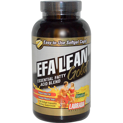 Shop Labrada Nutrition EFA Lean Gold, 180 Softgel online  omega-3-nutritional-supplements